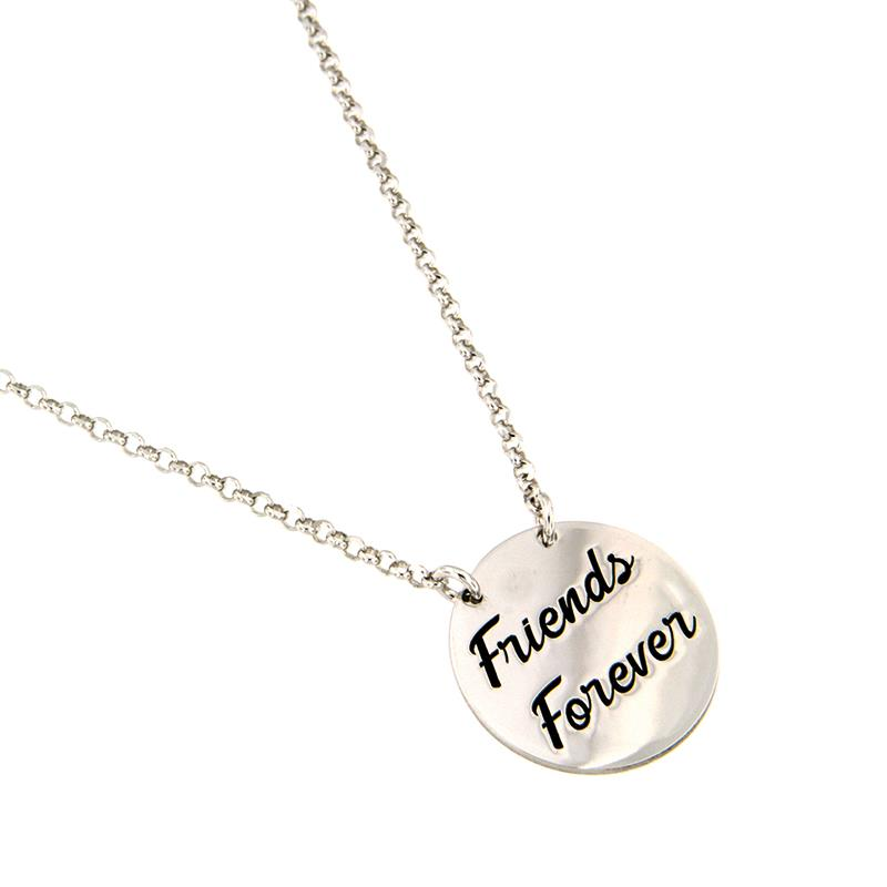 "JOY OF MY LIFE - COLLANA IN ARGENTO ""FRIENDS FOREVER"" - AMORE E BACI"